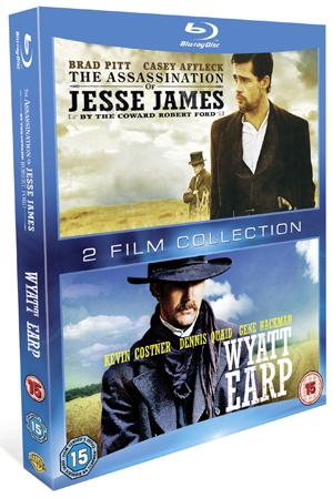 The Assassination of Jesse James By the Coward.../Wyatt Earp (2007) (Blu-ray) (Retail / Rental)