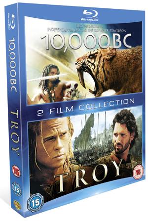 10,000 B.C./Troy (2008) (Blu-ray) (Retail / Rental)