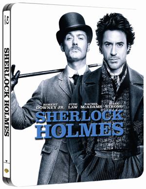 Sherlock Holmes (2009) (Blu-ray) (Steel Book with UltraViolet Copy) (Retail / Rental)