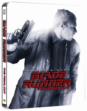 Blade Runner: The Final Cut (1982) (Blu-ray) (Steel Book with UltraViolet Digital Copy) (Retail / Rental)