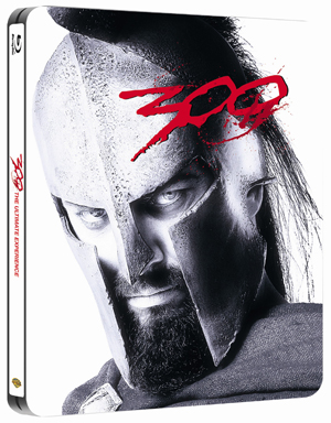 300 (2006) (Blu-ray) (Steel Book with UltraViolet Copy) (Retail / Rental)
