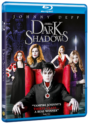 Dark Shadows (2012) (Blu-ray) (Irish Version) (Pulled)