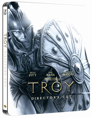 Troy (2004) (Blu-ray) (Steel Book with UltraViolet Copy) (Retail / Rental)