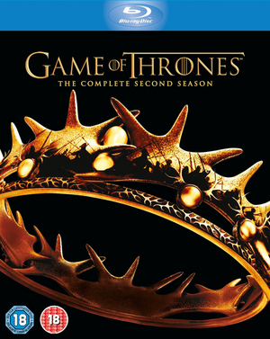 Game of Thrones: The Complete Second Season (2012) (Blu-ray) (Retail / Rental)