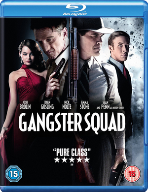 Gangster Squad (2013) (Blu-ray) (with UltraViolet Copy) (Retail Only)