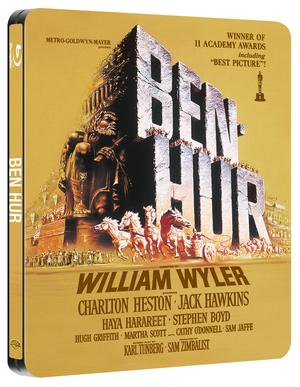 Ben Hur (1959) (Blu-ray) (Steel Book with UltraViolet Copy) (Retail / Rental)