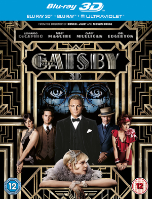 The Great Gatsby (2013) (Blu-ray) (3D Edition with 2D Edition + UltraViolet Copy) (Retail Only)