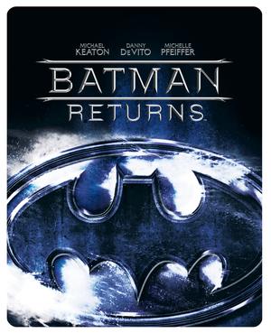 Batman Returns (1992) (Blu-ray) (Steel Book) (Retail / Rental)