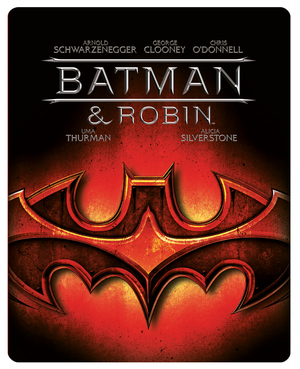 Batman and Robin (1997) (Blu-ray) (Steel Book) (Retail / Rental)