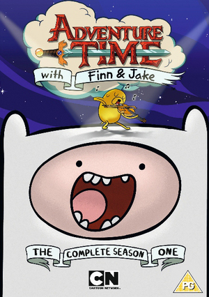 Adventure Time: The Complete First Season (2010) (Retail / Rental)
