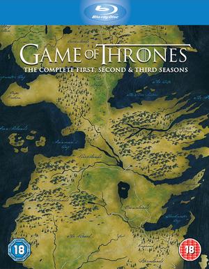 Game of Thrones: Seasons 1-3 (2013) (Blu-ray) (Box Set) (Retail / Rental)
