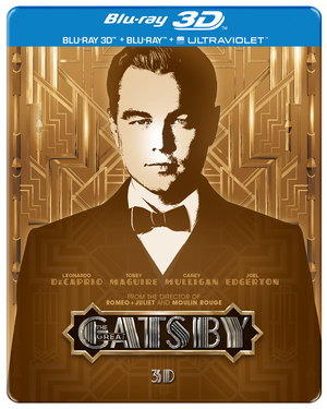 The Great Gatsby (2013) (Blu-ray) (3D Edition with 2D Edition + UltraViolet Copy (Steelbook)) (Retail Only)