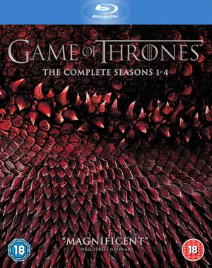 Game of Thrones: Seasons 1-4 (2014) (Blu-ray) (Box Set) (Retail / Rental)