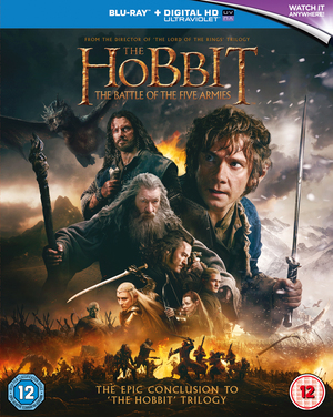 The Hobbit: The Battle of the Five Armies (2014) (Blu-ray) (with UltraViolet Copy) (Retail Only)