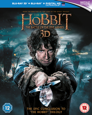 The Hobbit: The Battle of the Five Armies (2014) (Blu-ray) (3D Edition with 2D Edition + UltraViolet Copy) (Retail Only)