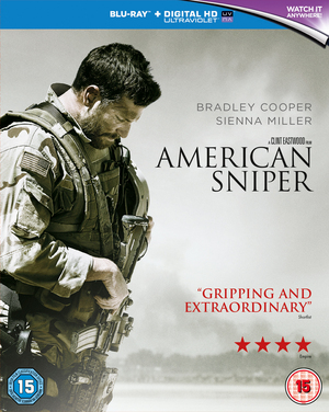 American Sniper (2014) (Blu-ray) (with UltraViolet Copy) (Retail Only)