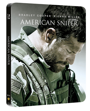American Sniper (hmv Exclusive) (2014) (Blu-ray) (Steel Book) (Retail Only)