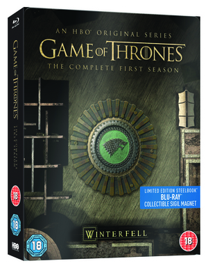 Game of Thrones: The Complete First Season (2011) (Blu-ray) (Limited Edition Steelbook) (Retail Only)