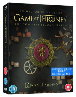 Game of Thrones: The Complete Second Season (2012) (Blu-ray) (Limited Edition Steelbook) (Retail Only)
