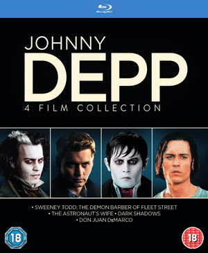 Johnny Depp Collection (2012) (Blu-ray) (Retail / Rental)