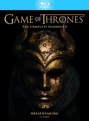 Game of Thrones: Seasons 1-5 (2015) (Blu-ray) (Softpack) (Retail / Rental)