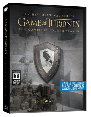 Game of Thrones: The Complete Fourth Season (2014) (Blu-ray) (Limited Edition Steelbook) (Retail Only)