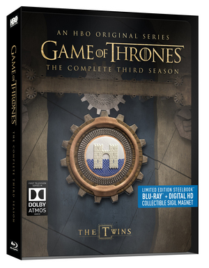 Game of Thrones: The Complete Third Season (2013) (Blu-ray) (Limited Edition Steelbook) (Retail Only)