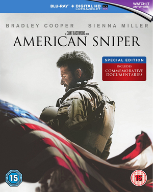 American Sniper (2014) (Blu-ray) (with Digital HD UltraViolet Copy (Special Edition)) (Pulled)