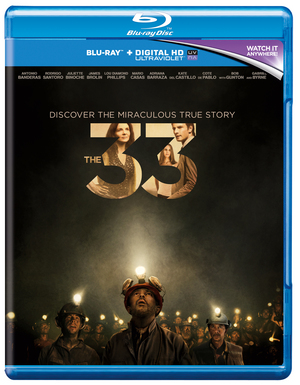 The 33 (2015) (Blu-ray) (with Digital HD UltraViolet Copy) (Pulled)
