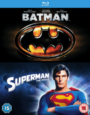 Batman/Superman: The Movie (1989) (Blu-ray) (Retail / Rental)