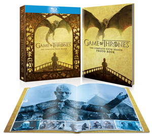 Game of Thrones: The Complete Fifth Season (hmv Exclusive) (2015) (Blu-ray) (Special Edition) (Retail Only)