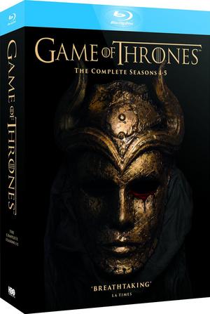 Game of Thrones: Seasons 1-5 (2015) (Blu-ray) (Box Set) (Retail / Rental)