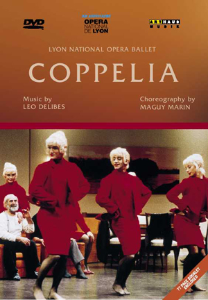 Coppélia: Lyon National Opera Ballet (Nagano) (1994) (Retail / Rental)