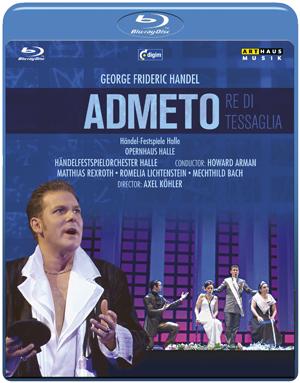 Admeto: Händel-Festspiele Halle (2006) (Blu-ray) (Retail / Rental)