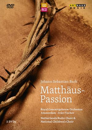 Bach: Matthaus Passion (Fischer) (2012) (NTSC Version) (Retail / Rental)