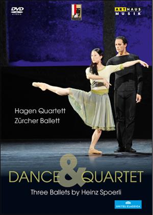 Dance and Quartet - Three Ballets By Heinz Spoerli (2012) (NTSC Version) (Retail / Rental)