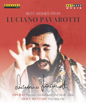 Best Wishes from Luciano Pavarotti (1988) (NTSC Version) (Retail / Rental)