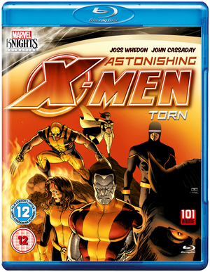 Astonishing X-Men: Torn (2012) (Blu-ray) (Retail / Rental)