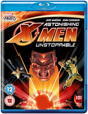 Astonishing X-Men: Unstoppable (2012) (Blu-ray) (Retail / Rental)