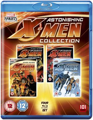Astonishing X-Men: Collection (2012) (Blu-ray) (Box Set) (Retail / Rental)