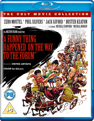 A Funny Thing Happened On the Way to the Forum (1966) (Blu-ray) (Retail / Rental)