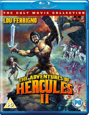 The Adventures of Hercules II (1985) (Blu-ray) (Retail / Rental)