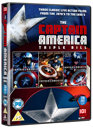 Captain America Collection (1990) (Retail / Rental)