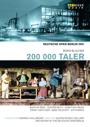 200 000 Taler: Deutsche Oper Berlin (Hollreiser) (1970) (NTSC Version) (Retail / Rental)