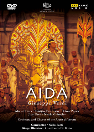Aida: Arena Di Verona (Santi) (1992) (NTSC Version) (Retail / Rental)