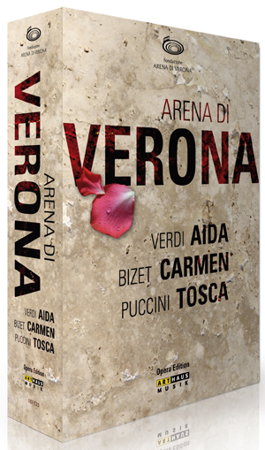 Arena Di Verona Collection (2006) (Box Set) (Retail Only)