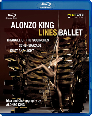 Alonzo King/Lines Ballet: Triangle of the Squinches/... (2011) (Blu-ray) (Retail / Rental)