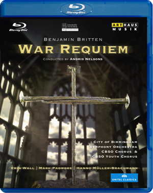Britten: War Requiem (Nelsons) (2012) (Blu-ray) (Retail / Rental)