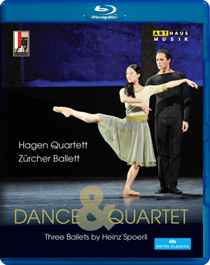 Dance and Quartet - Three Ballets By Heinz Spoerli (2012) (Blu-ray) (Retail / Rental)