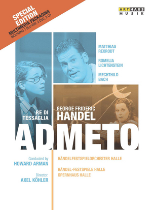 Admeto: Händel-Festspiele Halle (2006) (Blu-ray) (+ DVD and Audio CD) (Retail Only)